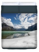 Minewanka View Duvet Cover