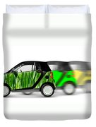 Mini Cars Duvet Cover