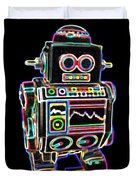Mini D Robot Duvet Cover