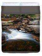 Mini Falls On The Peterskill I Duvet Cover