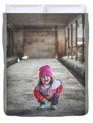 Mini Farmer Duvet Cover by Viviana Nadowski