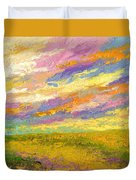 Mini Landscape V Duvet Cover