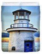 Miniature Lighthouse Duvet Cover