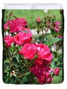 Miniature Roses Duvet Cover