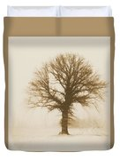 Minimal Winter Tree Duvet Cover