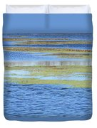 Brazos Bend Wetland Abstract Duvet Cover
