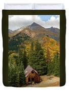 Mining Shack Duvet Cover