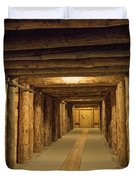 Mining Tunnel Duvet Cover