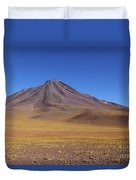 Miniques Volcano And High Altitude Desert Chile Duvet Cover