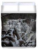 Mink Falls - The Hideaway Duvet Cover