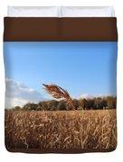 Minnesota Lake Grass Duvet Cover