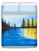 Minnesota Lakes Duvet Cover