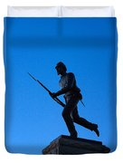 Minnesota Soldier Monument At Gettysburg Duvet Cover