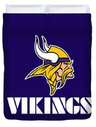 Minnesota Vikings Duvet Cover
