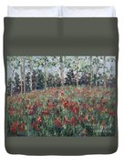 Minnesota Wildflowers Duvet Cover by Nadine Rippelmeyer