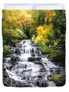 Minnihaha Falls In Autumn Duvet Cover