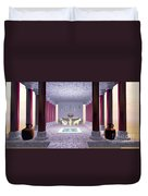 Minoan Temple Duvet Cover by Corey Ford