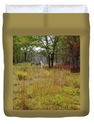 Miracle In The Meadow Duvet Cover