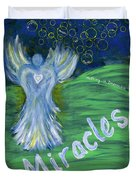 Miracles Duvet Cover
