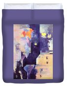 Mirage In The Concrete City Duvet Cover