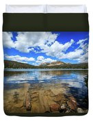 Mirror Lake Moments Duvet Cover