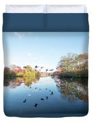 Mirrored Formation Duvet Cover
