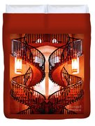 Mirrored Stairs Duvet Cover