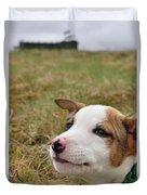 Mischief On The Farm Duvet Cover