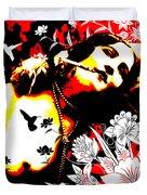 Mischievious Hummingbird Duvet Cover