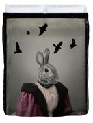 Miss Bunny And Crows Duvet Cover