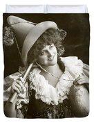 Miss Marie Studholme As Lady Madcap 1905 Duvet Cover