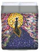 Miss Ufo Duvet Cover