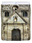 Mission Concepcion Entrance Duvet Cover