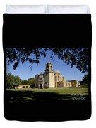 Mission San Jose Y San Miguel De Aguayo. Church. Duvet Cover