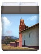 Mission End Wall Duvet Cover