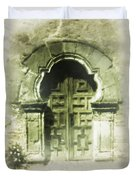 Mission Espada Chapel Door Duvet Cover