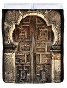 Mission Espada Door - 2 Duvet Cover