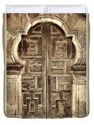 Mission Espada Door - 4 Duvet Cover