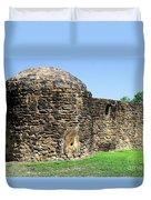 Mission Fort Duvet Cover