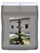 Mission Fountain Duvet Cover