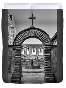 Mission Gate And Bells #3 Duvet Cover