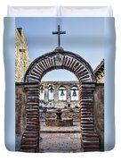Mission Gate And Bells Duvet Cover