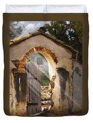 Mission Gate Duvet Cover