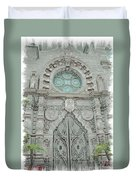Mission Inn Chapel Door Duvet Cover