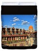 Mission Inn Skyline Duvet Cover