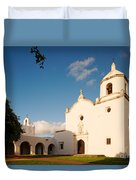 Mission Nuestra Senora Del Espiritu Santo De Zuniga At Sunset - Goliad Coastal Bend Texas Duvet Cover