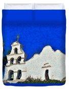 Mission San Diego De Alcala Duvet Cover
