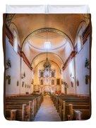 Mission San Jose Chapel Glow Duvet Cover