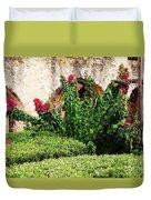 Mission San Jose' Flora Beauty Duvet Cover