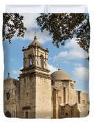 Mission San Jose Duvet Cover by Mary Jo Allen